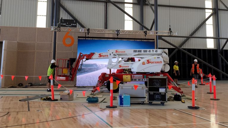 Led Screen Install for Coomera Sports Center, Gold Coast QLD