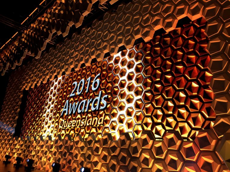 Led Screens for Department of Education & Training Awards QLD 2016