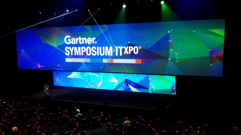 Indoor LED Screens for Gartner ITxpo 2015