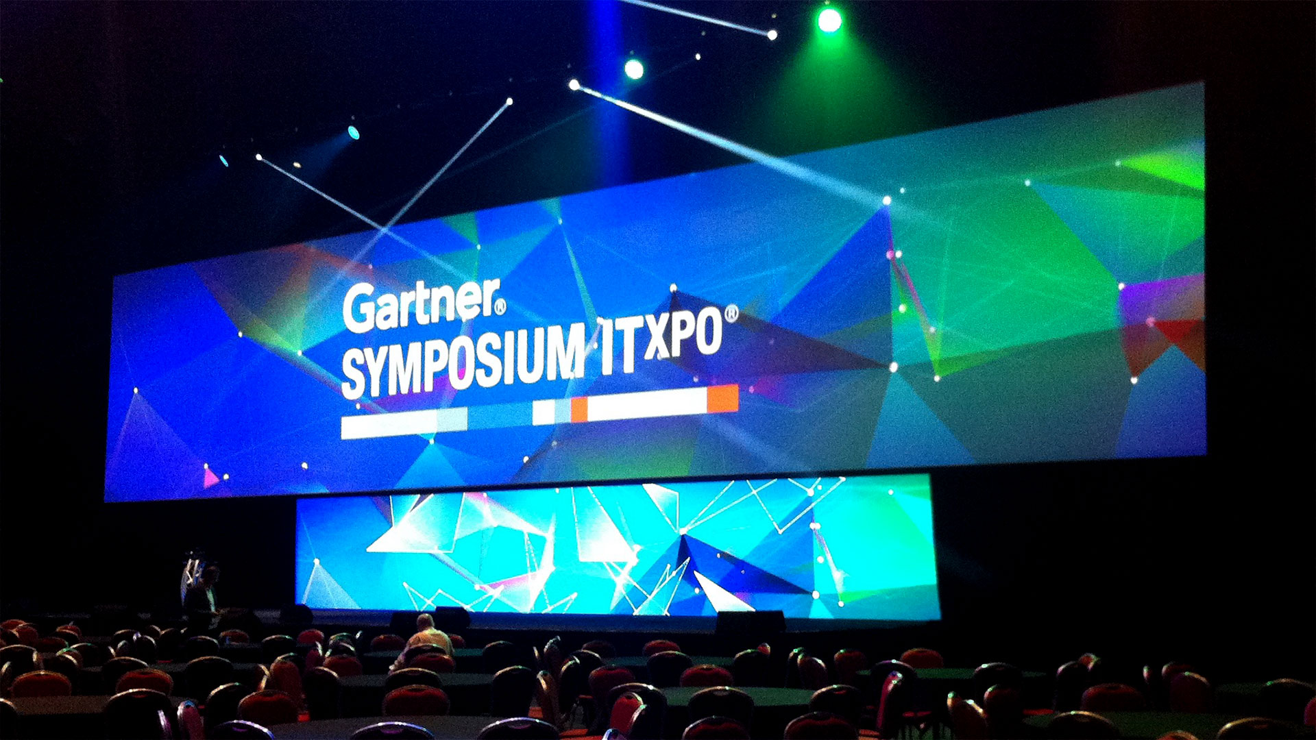LED Screens for Gartner ITxpo 2015