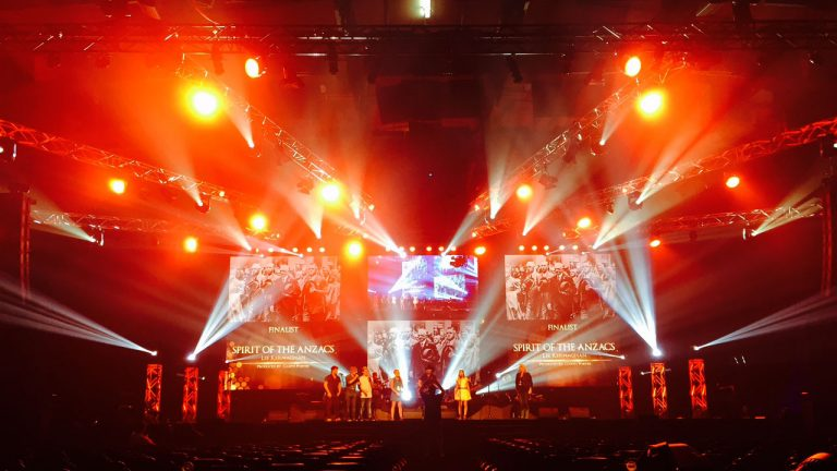 Stage LED Screens For the Golden Guitar Awards 2016