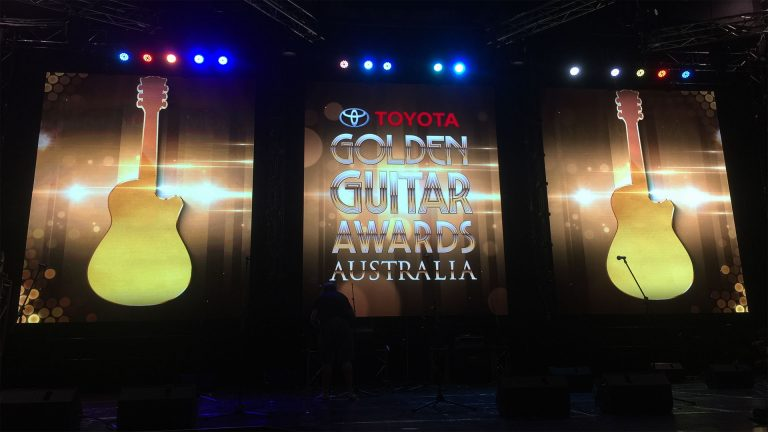 LED ScreensDisplay-the Golden Guitar Awards 2016