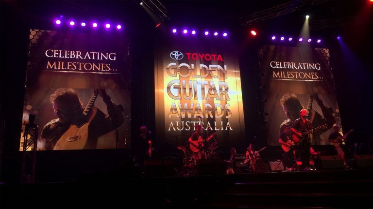 LED Screens for the Golden Guitar Awards 2016
