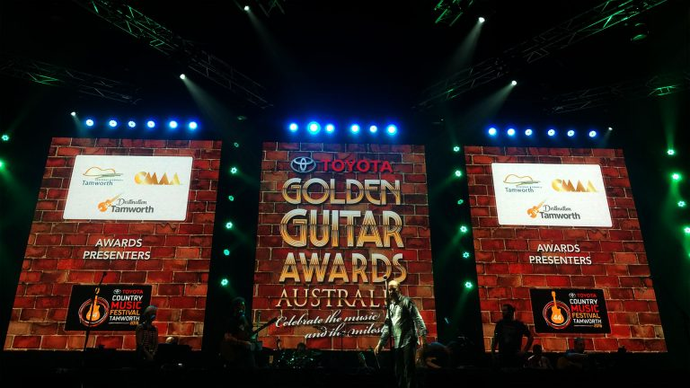 Outdoor Led screen-the Golden Guitar Awards 2016