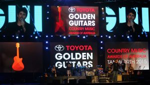LED Screens for the Golden Guitar Awards 2015, Tamworth NSW