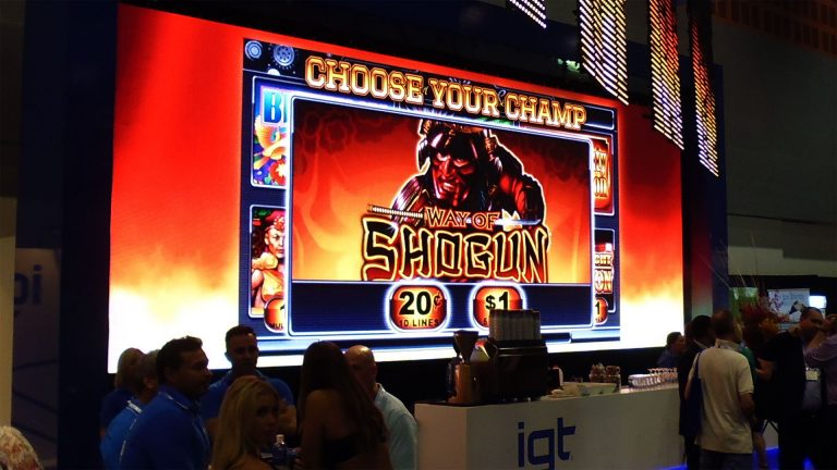 LED Screens for the International Gaming Technology Display Stand