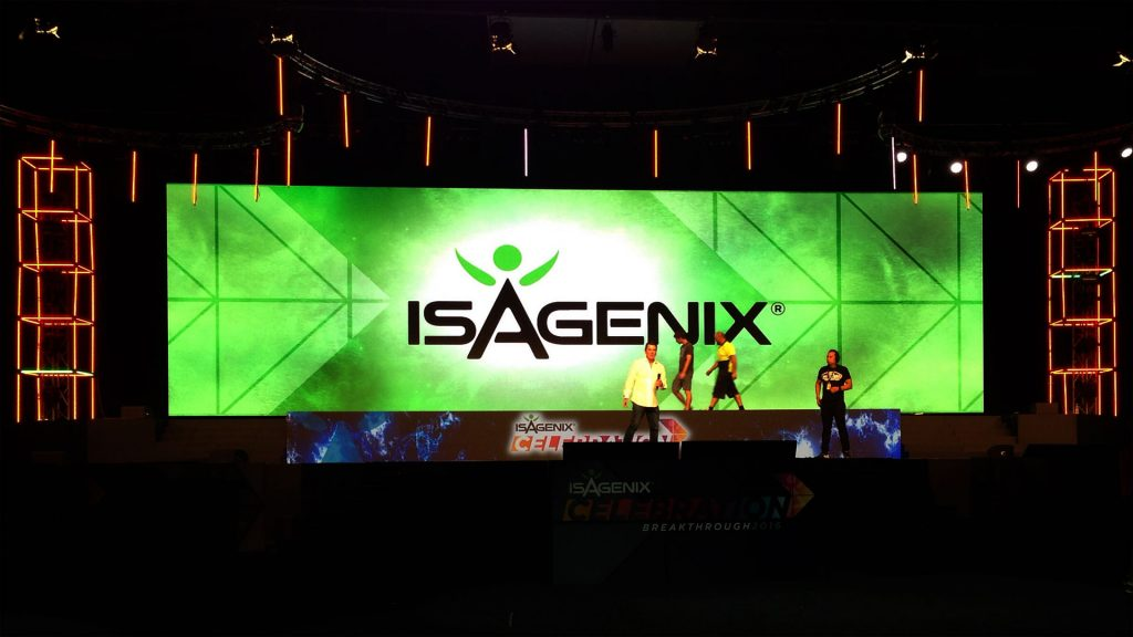 LED Screens for Isagenix Celebration 2016