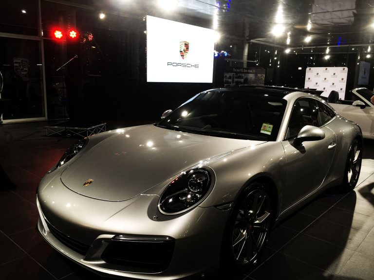 LED Screens for Porsche Launch