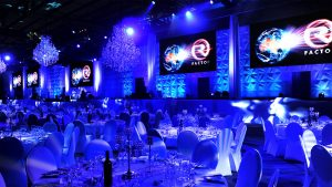 Led Screens for the Riveria Gala Dinner 2015