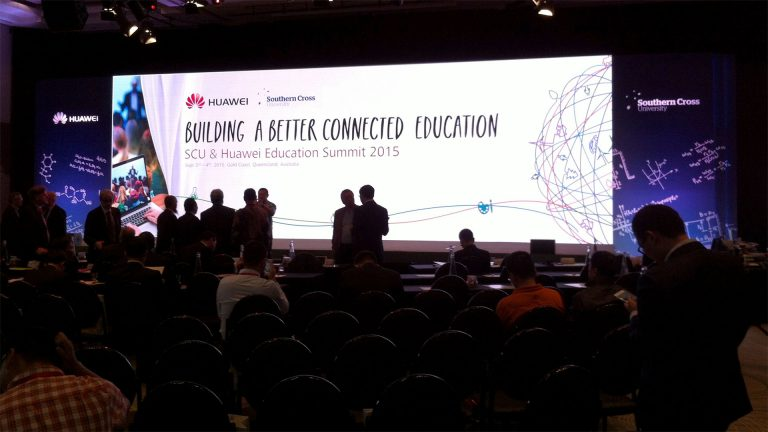 LED Screen for Southern Cross University Technology Summit