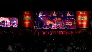 LED Screens for Surfers Paradise Christmas Carols 2015