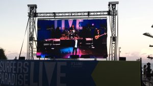 LED Screen at Surfers Live Festival 2016