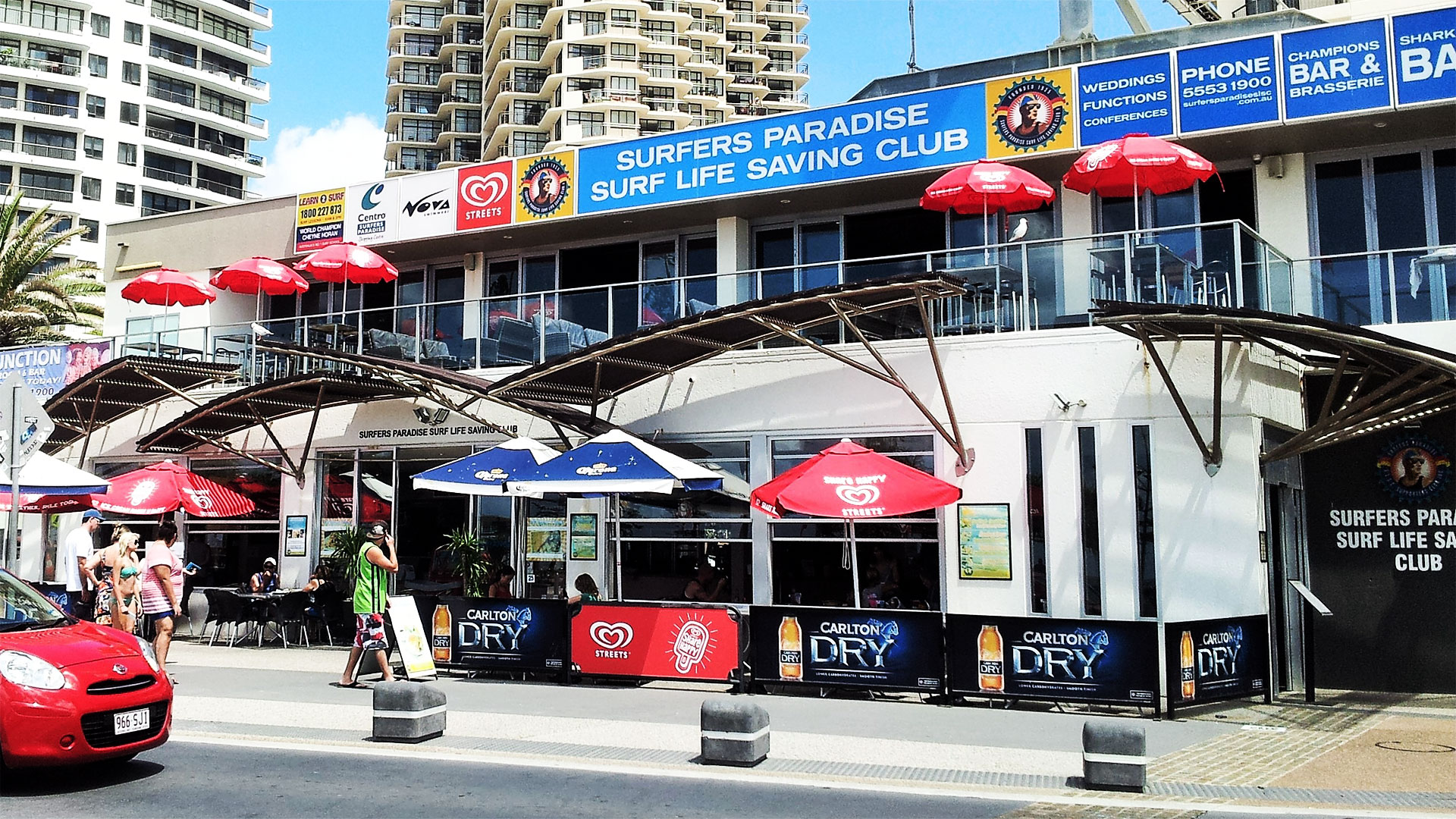 LED Screens for Surfers Paradise Life Saving Club Function Room