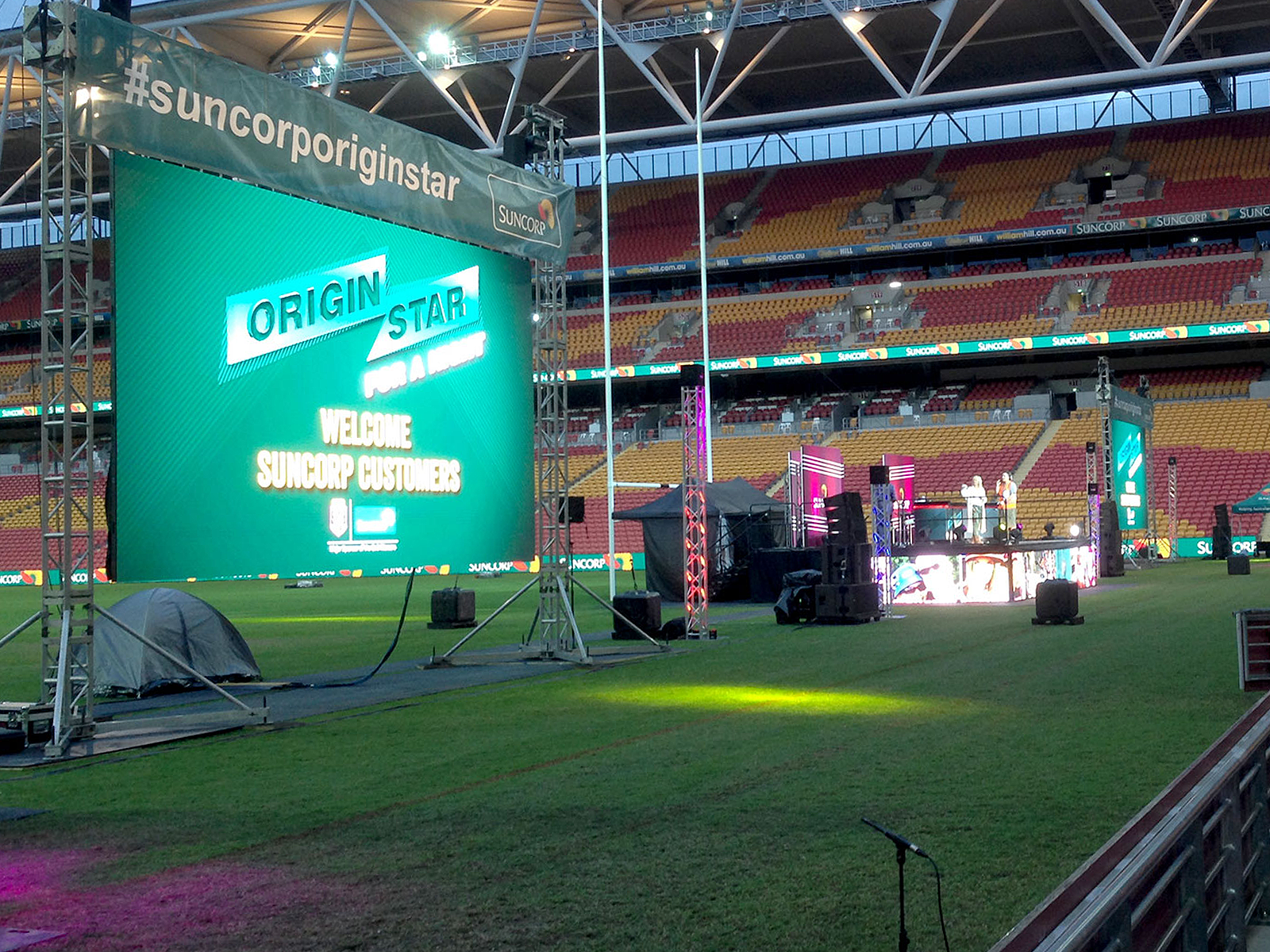 led vision suncorp origin star 2016