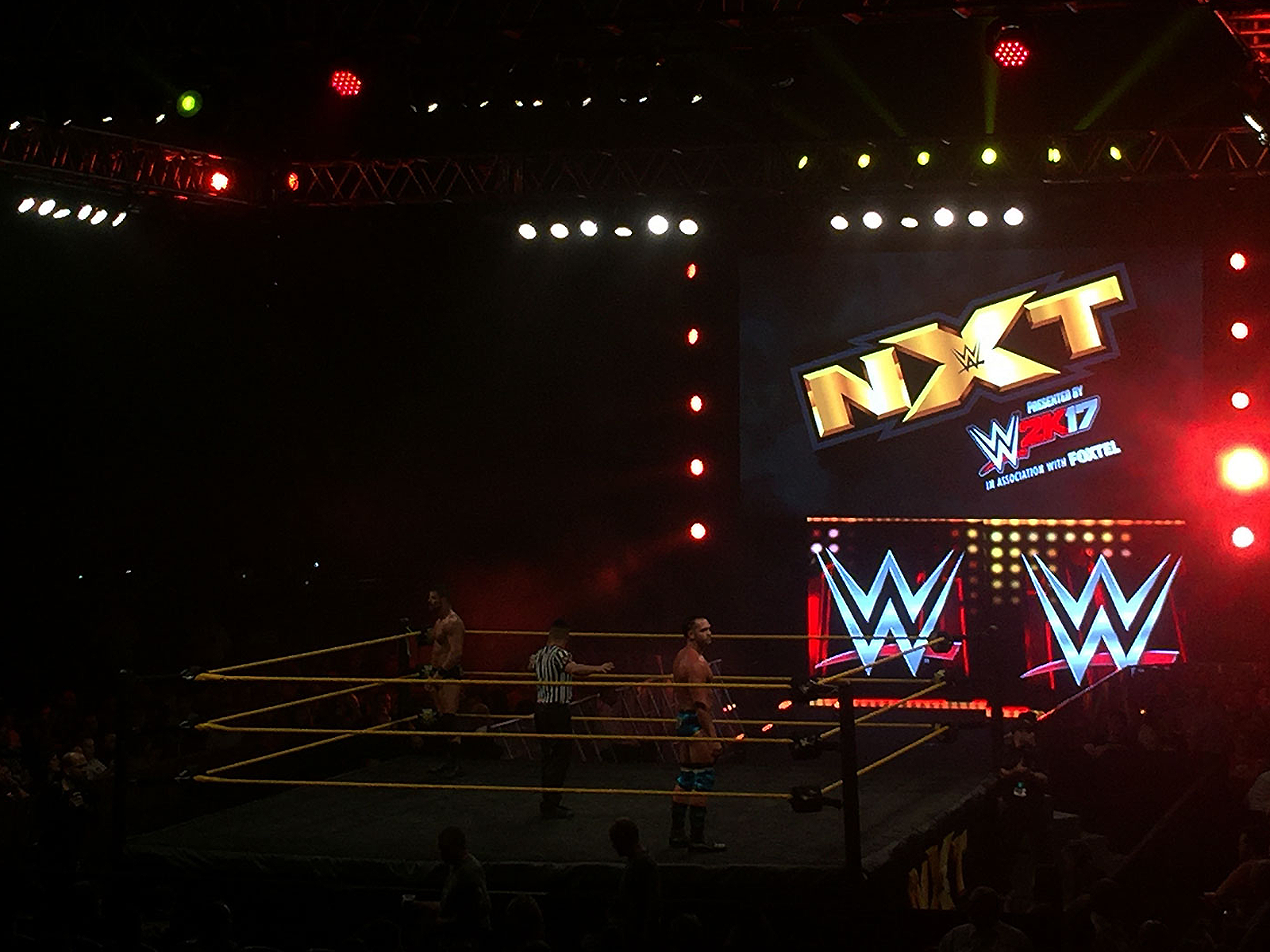 Wwe Nxt Gold Coast 2016