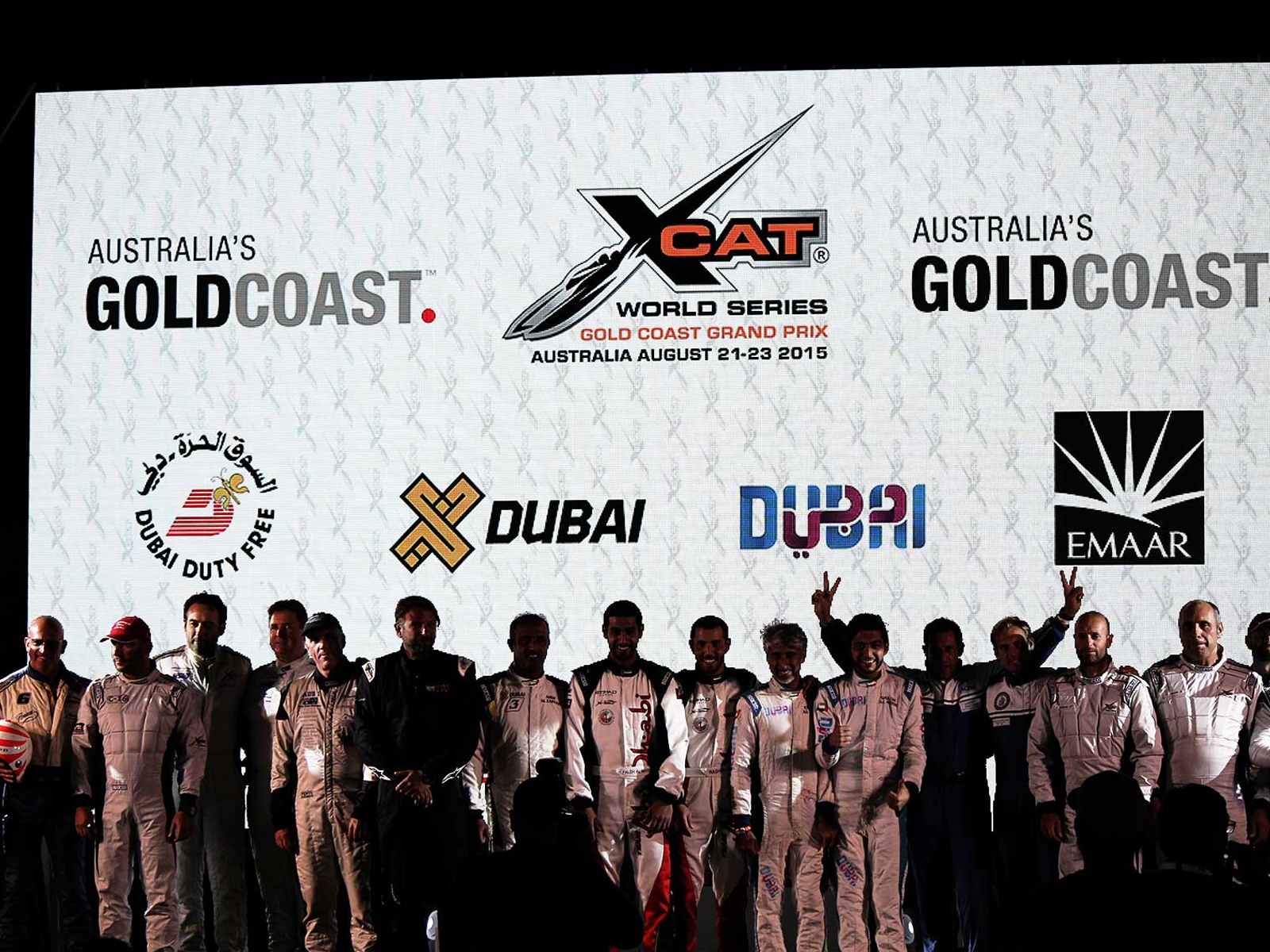 led vision xcat world series 2015