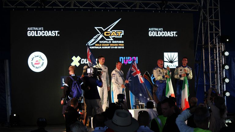 Sports led screen xCat Ocean Racing, Southport QLD