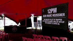 Led Screen for A La Carte In The Park, Surfers Paradise QLD