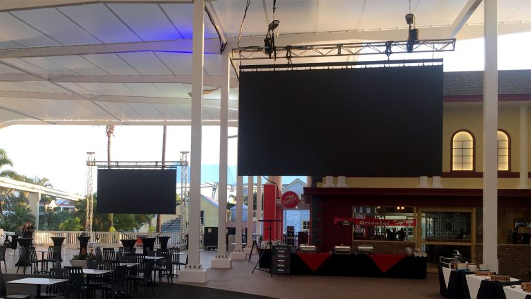 LED Screens for Staging Connections