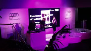 LED Screen for Audi Showroom Launch Indooroopilly