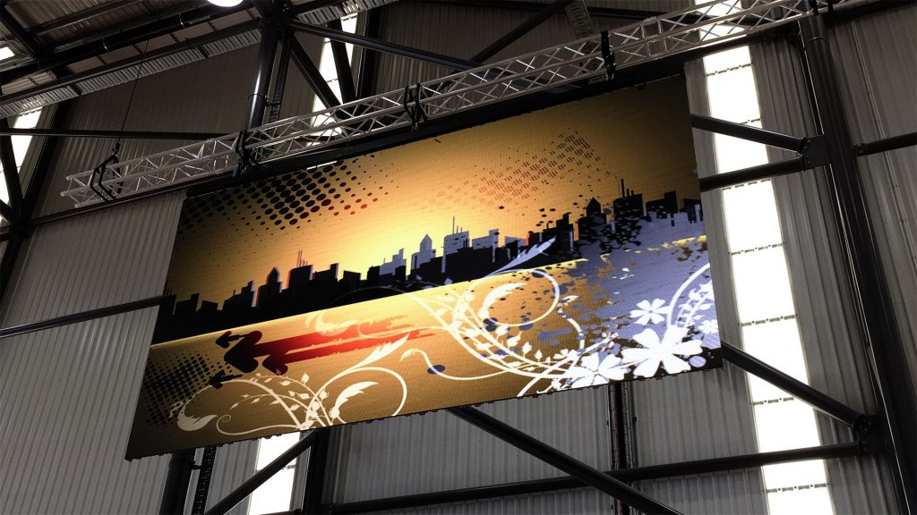 LED Screens for Coomera Indoor Sports Centre