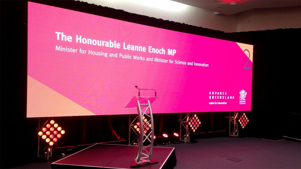 Led Screens for Queensland Government