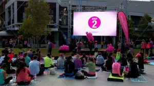 Led Screens for Lorna Jane Fitness Expo