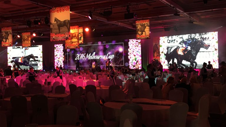 Led Screens for Melbourne Cup Sport Events