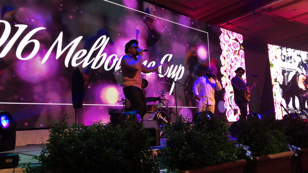 Led Screens for Melbourne Cup