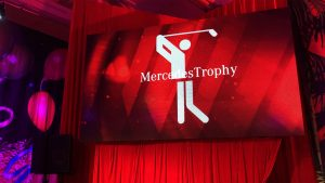 LED Screens for Mercedes Golf Trophy, Gold Coast Australia