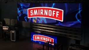 Led Screens Smirnoff Vodka Tent