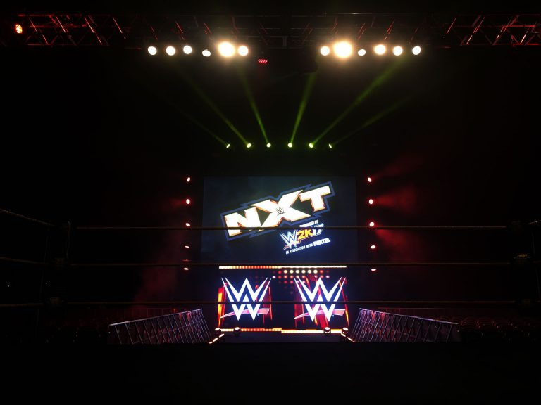 Led Screens WWE NXT Live, Gold Coast