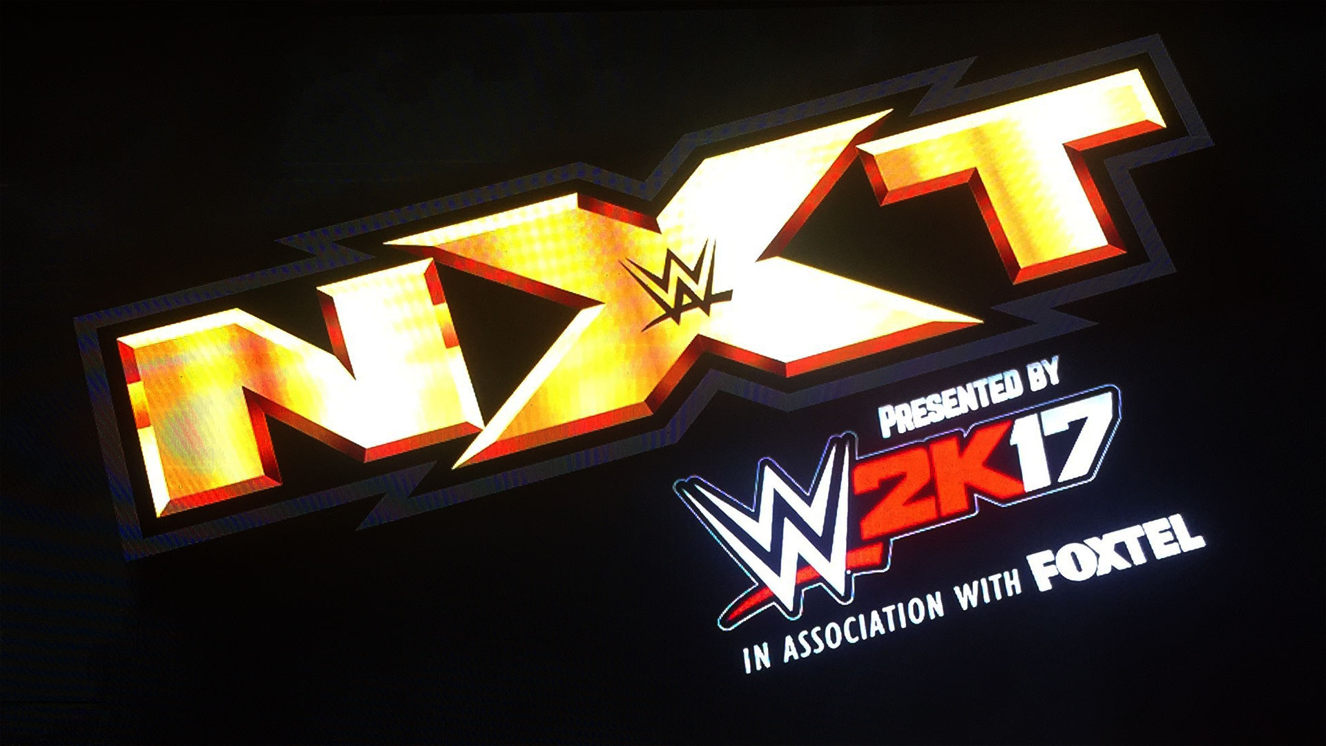 Led Screens for WWE NXT Live, Gold Coast Australia