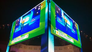 led vision commonwealth games