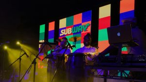 ledvision subway aunz warp party